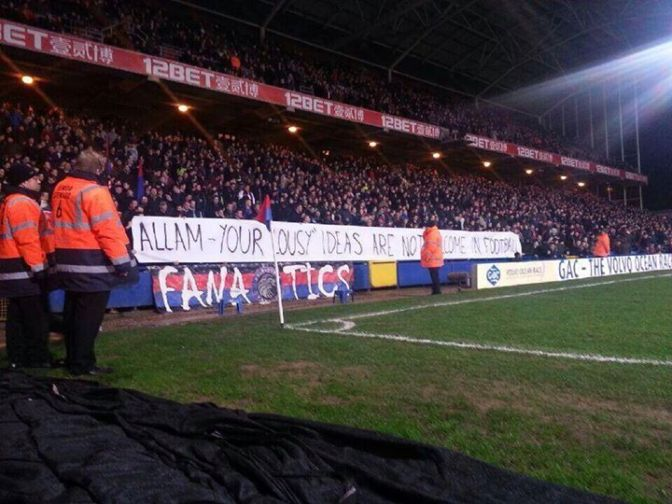 holmesdale fanatics support hull