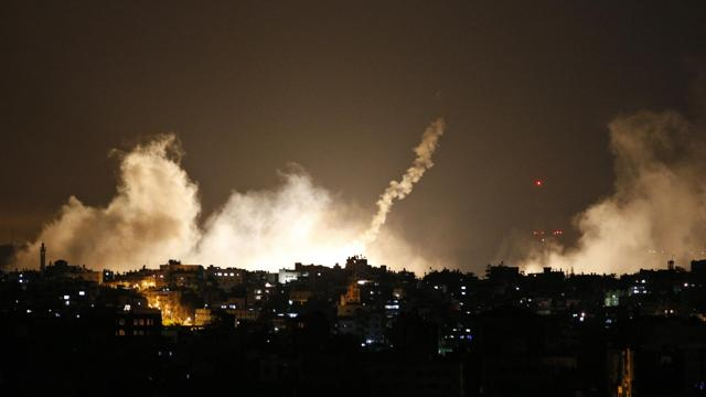 gaza attacked