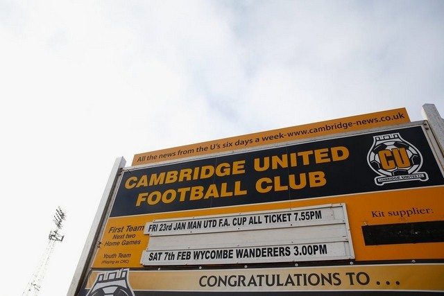 Cambridge united v man utd fa cup