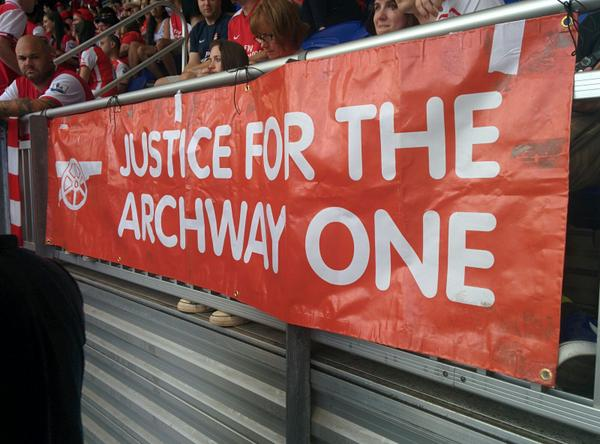 justice for the archway one