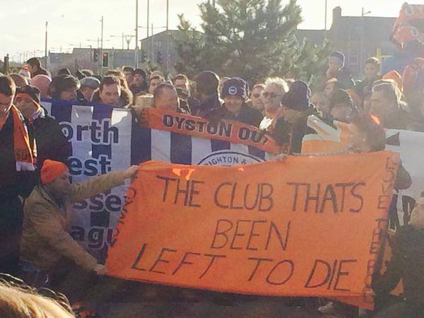 Blackpool oyston out campaign