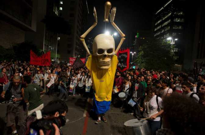 brazil world cup protests