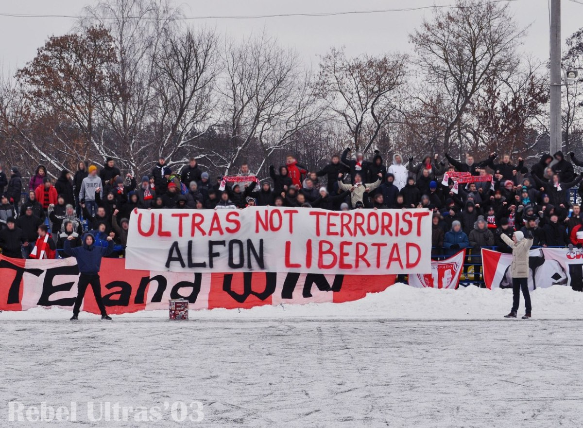 Authorities crack down on Belarus ultras (again!)
