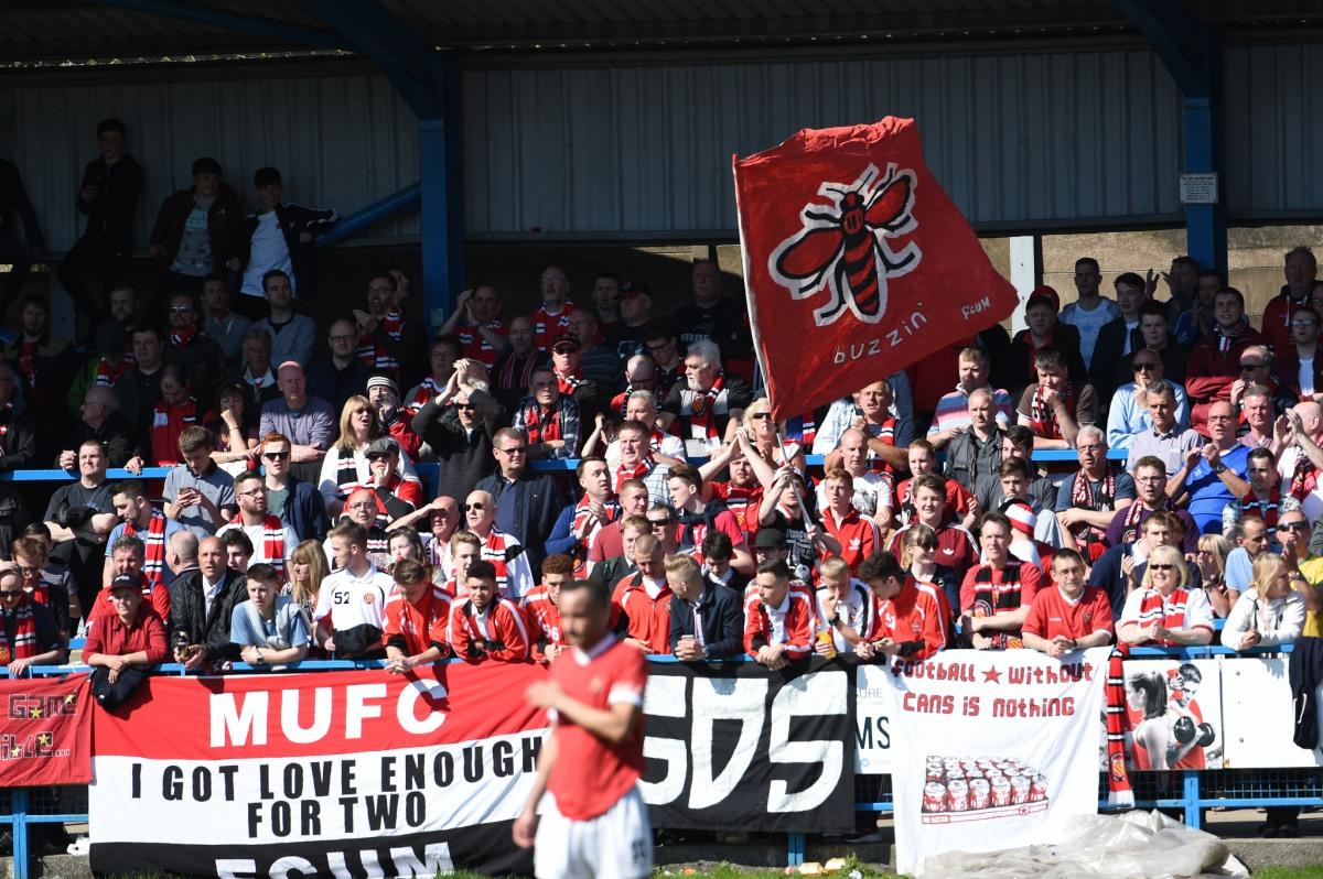 Match report: FCUM v Stamford AFC