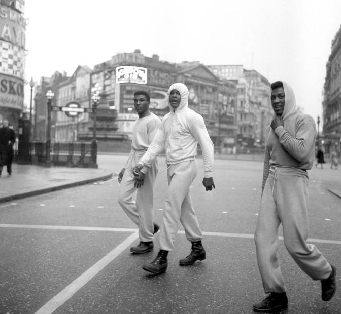 ali in london, 1963