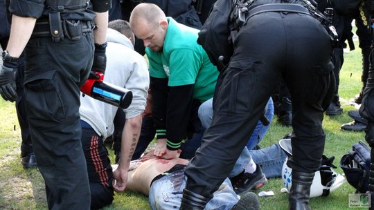 Concordia Knurów fan killed 2may15