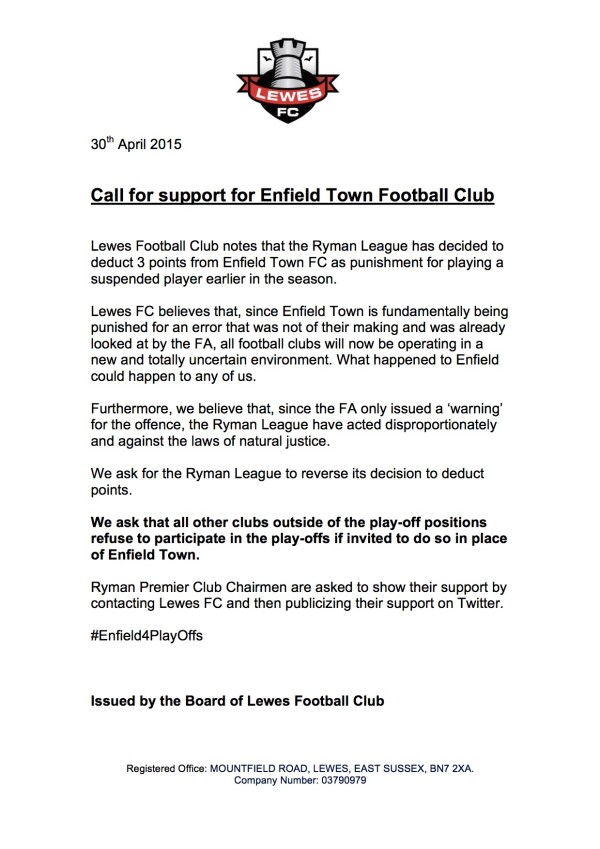 Enfield-Town-letter-of-support-lewesfc
