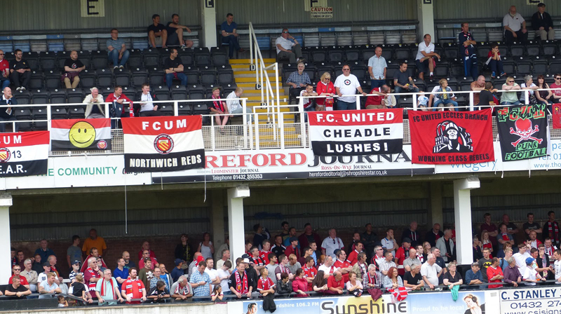 hereford beat fcum in friendly thriller nice one. Black Bedroom Furniture Sets. Home Design Ideas