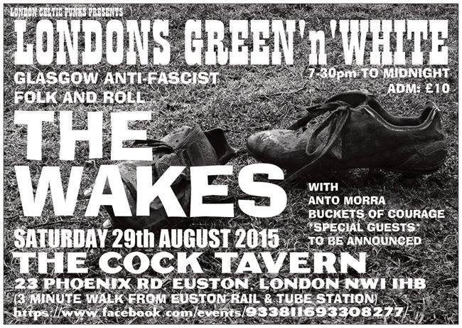 Wakes benefit london 29aug15