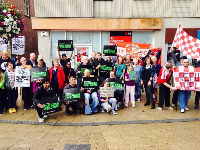 barnsley & swindon town fans 12sept15
