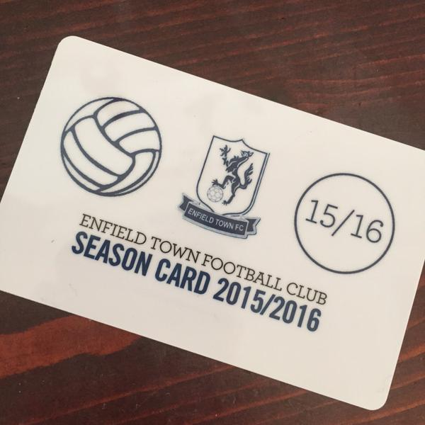 enfield town season ticket