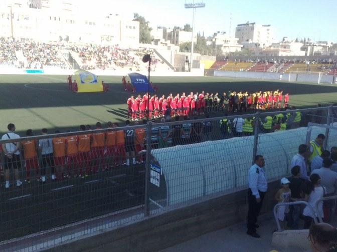 faisal al-husseini stadium palestine
