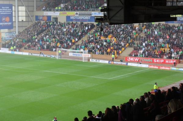 Celtic at Motherwell 17oct15