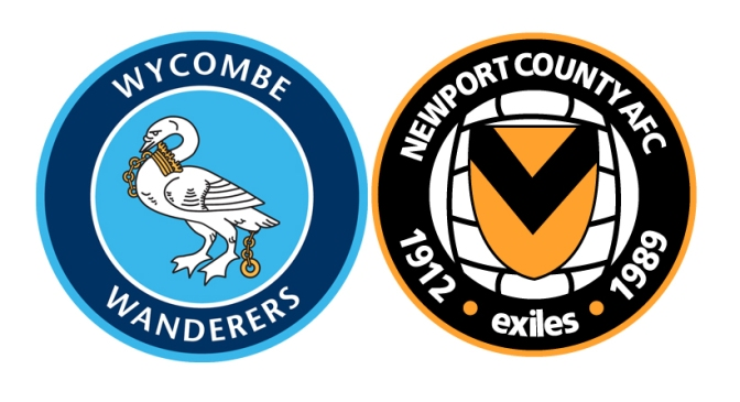 wycombe v newport 20oct15