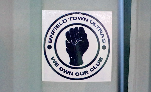 enfield town stickers