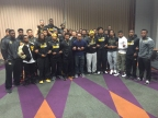 Black American football players go on strike over racism on campus