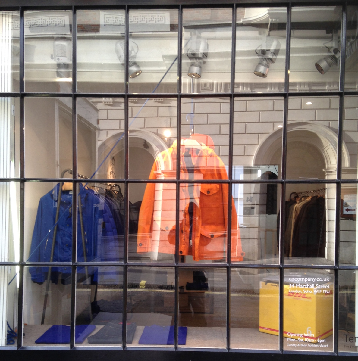 Window Shopping in Soho (2) - C.P Company