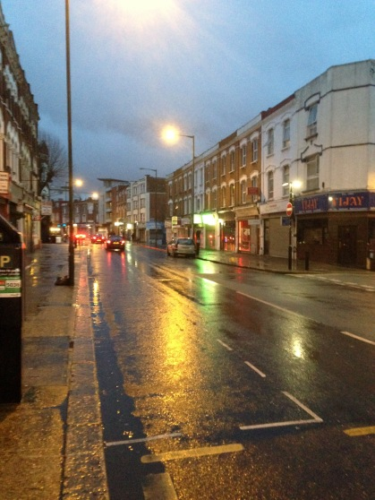 Kilburn, London 7am 7 Jan 2016