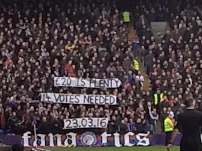 holmesdale fanatics V liverpool 5march16