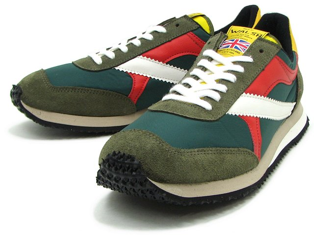 walsh trainers tornado green
