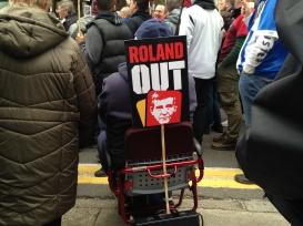 Charlton protest Sat 24 Apr 2016