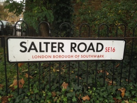 Salter road Fisher FC ground
