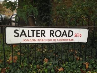 Salter road Fisher FC ground