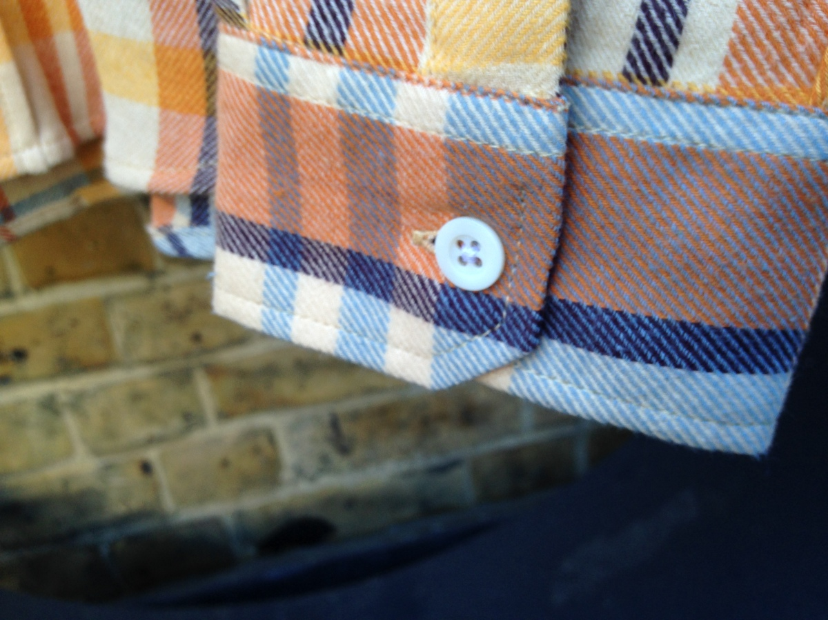 Tuk Tuk Larry L/S Shirt (Flannel Oatmeal Check)
